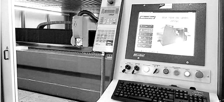 Laserschneidanlage Startseite Box - Graner Eisengroßhandel - Konstanz