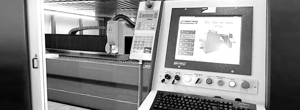 Laserschneidanlage - Graner Eisengroßhandel - Konstanz