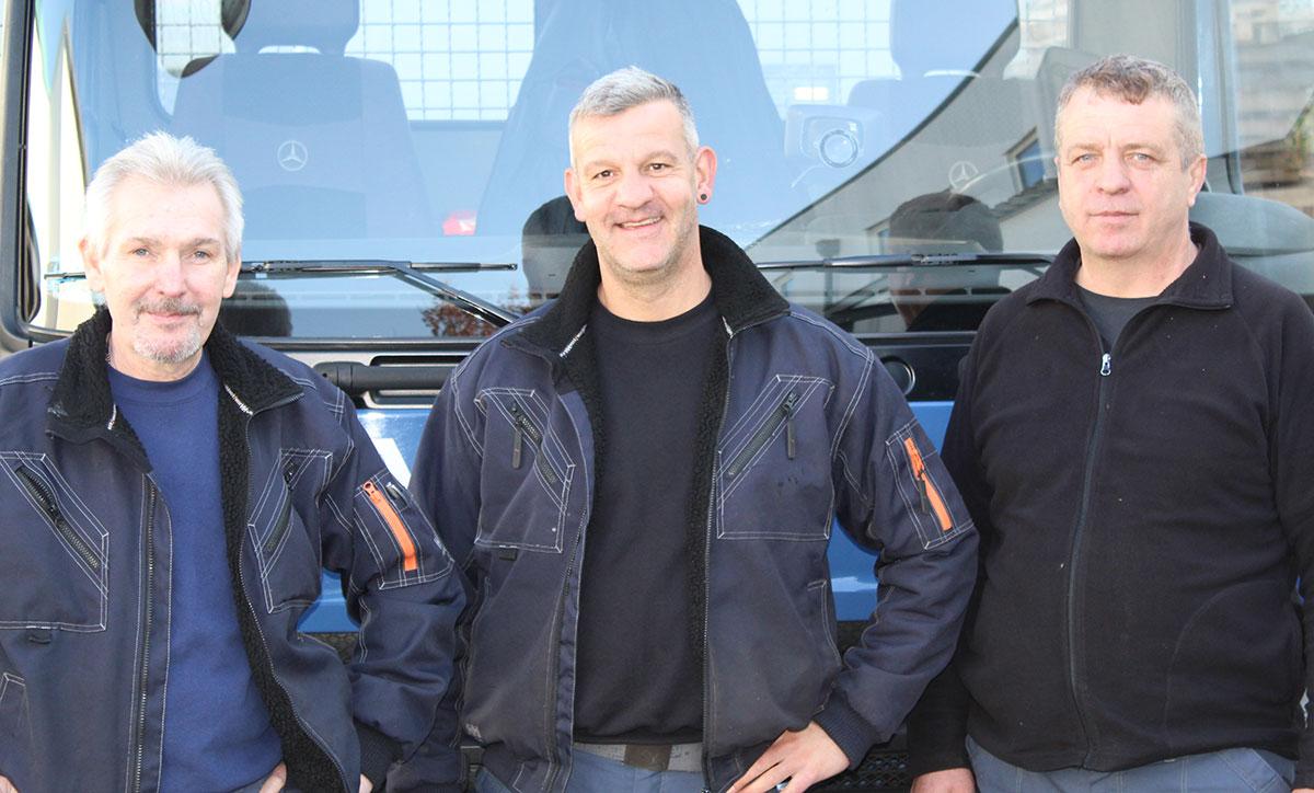 Teamfoto - Graner Eisengroßhandel - Konstanz